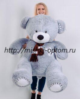 Мишка Маркус 170 см Серый