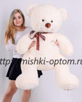 Мишка i love you 150 см Молочный