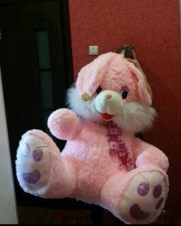 Зайчик 180 см Розовый