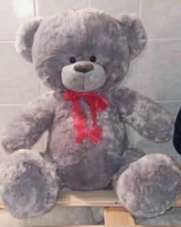 Мишка Тедди с красной лентой 110 см