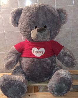 Мишка Тедди 140 в красном свитере