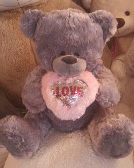 Мишка Teddy с сердцем 85 см (2)