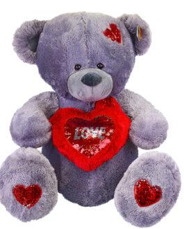 Мишка Тедди с сердцем 110 см