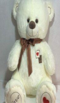 Мишка Тим 105 см Белый