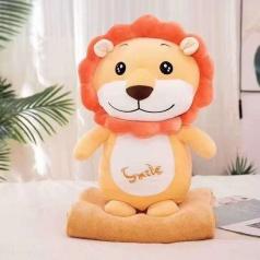 Лев с пледом 55 см