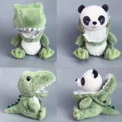 Панда в маскировке 25 см (готовый)